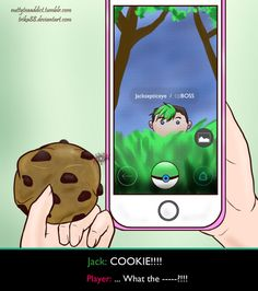 nuttyteaaddict: A Wild Youtuber has Appeared!   Virtual or not, he still wants that cookie! therealjacksepticeye: hahaha