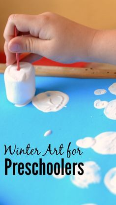 Vorschule Winter Art - Winter Activities for Kids - # Winter Activities For Kids, Winter Crafts For Kids, Winter Kids, Art For Kids, Preschool Winter, Winter Crafts For Preschoolers, Art Activities For Preschoolers, Time Activities, Sensory Activities