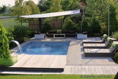 Pool Outdoor Spaces, Outdoor Decor, Garden Water, The Great Outdoors, Landscaping, New Homes, Gardening, Home Decor, Gardens