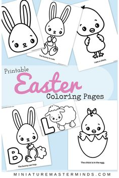 Bookmarks Easter and Printable bookmarks on Pinterest