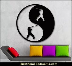 sc 1 st  Pinterest & Karate wall decals | Karate moves Wall decals and Walls