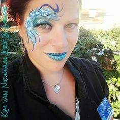 Eyedesign glitter facepaint Glitter Face Paint, Flowers Nature, Septum Ring, Carnival, Artists, Woman, Painting, Inspiration, Jewelry