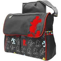 Disney - Mickey Mouse in the House Messenger Diaper Bag