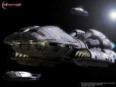 Prometheus Ship Model | Battlestar galactica (ship) - Battlestar Galactica (ship) photo