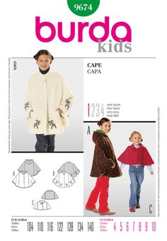 d8bc36111a28 the cape is back in fashion. you can choose from two lengths and peter pan