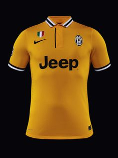 NIKE, Inc. - Nike and Italian Champions Juventus Unveil Yellow Shirt for New Away Kit