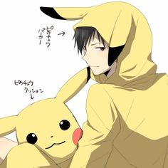 pikachu x izaya || http://www.pixiv.net/member.php?id=4772797 [please do not remove this caption with the source]