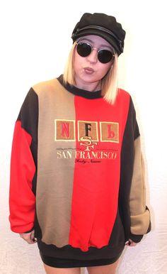 9a836b64c Forty Niners San Francisco NFL Sweatshirt XL. Forge Vintage Clothing