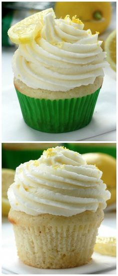Light and Lovely Lemon Cupcakes - the BEST lemon cupcakes ever! An easy recipe that doesn't require any fancy ingredients or equipment!