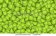 Interesting pattern of tennis balls Balls, Tennis, Stock Photos, Illustration, Pattern, Image, Design, Trainers, Real Tennis