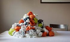 16 Ways to Reuse Plastic Bags. Here in the U.S. we use around one billion plastic bags per year, and we only recycle around one percent of them. The rate of recycling is so low because recycling plastic of this low quality is not very profitable. The rest of those bags are landfill-bound. Make plarn –  Learn how to spin plastic bags into yarn that you can use for all kinds of projects!
