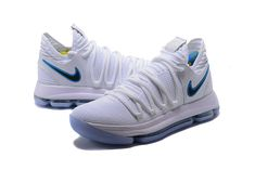 4ac420828305 Original Kevin Durant Nike KD 10 Opening Night White Game Royal-University  Gold Nike Zoom KD X 10 Basketball Shoes Wholesale