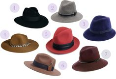 wide brimmed fedoras are a must have this fall!
