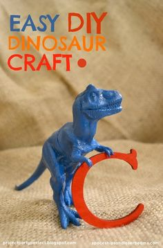 Easy Dinosaur Craft Ideas for Birthday Party