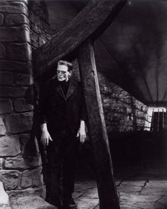 Frankenstein. My first time watching this classic monster movie. :) It was pretty good...the atmosphere is awesome, and so is some of the imagery (the burning windmill!). But seriously- I feel sort of sorry for the monster. It's not his fault that they planted a criminal's brain in his head! And all because the incompetent assistant dropped the first brain. Sure, he's got an anger problem, but look at how sweet he was with the little girl. He didn't know that she wouldn't float like the…