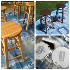 12 Best Barstool Makeovers Images In 2014 Bar Chairs
