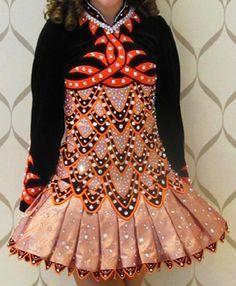 Irish Dance Solo Dress by Shamrock Stitchery