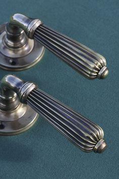 Lever Door Handles, Brass Door Handles, Bathroom Doors, Home Hardware, Internal Doors, Traditional, Classic, House, Design