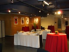 Reception in our SunRoom space at UBC Robson Square