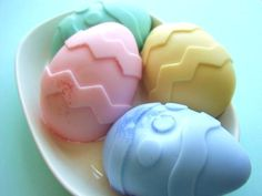 Giant Easter Egg Glycerin Soap  Ready to by SunbasilgardenSoap, $3.00