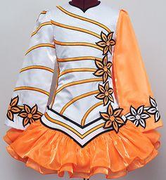 Irish dance solo dress. Reminds me of my marching band uniform