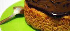 Tarta de zanahoria y chocolate en HazteVegetariano.com