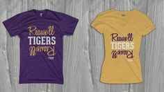 Reaux'll Tigers Reaux'll in crew and V-neck.