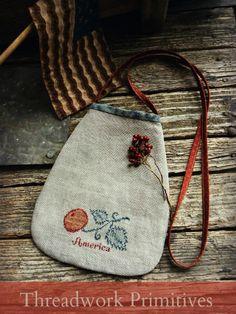 Primitive Americana Ditty Bag