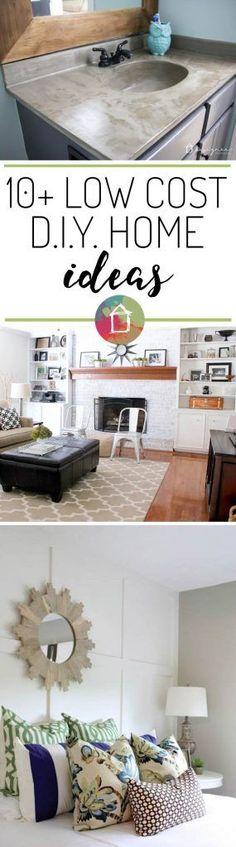 10+ DIY Home Improvement Ideas