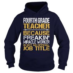 (Top Tshirt Brands) Awesome Tee For Fourth Grade Teacher [Tshirt Best Selling] Hoodies, Funny Tee Shirts