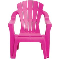 Fauteuil de jardin plastique pour enfant rose - Collection enfant - Mobilier de jardin - Mobilier | GiFi
