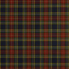 Robert Allen@Home Plaid Tartan Multi Fabric