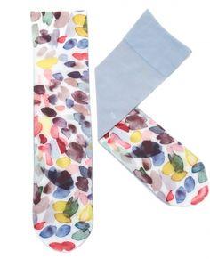 KVAST watercolor nylon socks