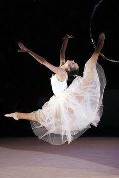 Anna Bessonova- Rhythmic gymnastics