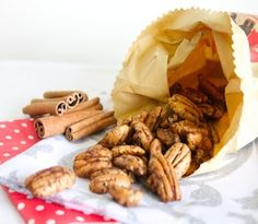 A super simple, gluten free recipe for a great snack or to serve as festive nibbles.