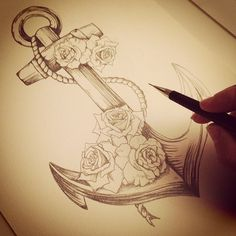 anchor drawing - Google Search