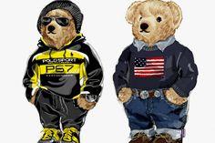Type of Bear - Steiff Bears Ralph Lauren Logo, Bear Illustration, Bear Wallpaper, Bear Logo, Bear Art, Street Wear, Teddy Bear, Boxing Posters, Sandlot