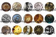 Clocks Bottle Cap Images