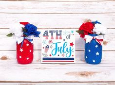 Fourth of July Decor for Independence Day July 4th Decoration   Etsy