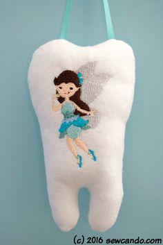 Magical DIY Tooth Fairy Pillow Tutorial