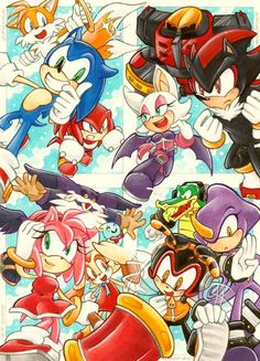 Sonic Heroes was my first Sonic game and I still love it