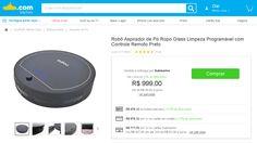 [Sub] Robô Aspirador de Pó Ropo Glass - R$ 697,57 c/ CCSub + CUPOM Alfanumérico