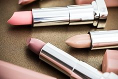 Maybelline pink lipsticks