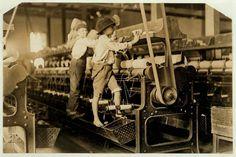 Sfruttamento minorile nelle fabbriche tessili in Georgia - 1909 -