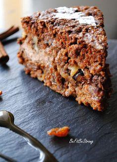 Just Be Fit Be Strong!: Wilgotne, orkiszowe ciasto marchewkowe z kremem cynamonowym na Halloween i nie tylko (wegańskie)