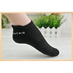 Women Fitness Women Professional Yoga Socks Anti Slip Rubber Dots-Connect2day
