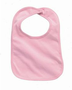 Plain pink baby bib has easy velcro closure. Pair this with the matching one piece and rock baby pacifier for a complete gift! Embroidery Blanks, Embroidery Applique, Blank T Shirts, Baby Costumes, Baby Bibs, Sew Baby, Vinyl Designs, Baby Sewing, Small Gifts