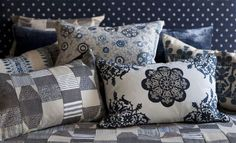 Marlena & Alberesque fabric collection from William Yeoward is made up of elegant and alluring high quality weaves, velvets, linens and embroidered texture Roman Blinds, Designers Guild, Out Of Style, Weaving, Product Launch, Stripes, Velvet, Curtains, Throw Pillows