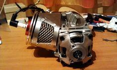 maly-minimoto: kryt chlazení motoru