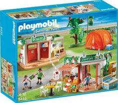 PLAYMOBIL® Camp Site, No. 5432 `One size The tent unfolds in the blink of an eye!, Numerous playing areas: bathroom, tent, toilet and entry with market, Theme: Summer Fun Details : 3 character(s), Contains multiple accessories: ice-creams, m http://www.comparestoreprices.co.uk/january-2017-7/playmobil®-camp-site-no-5432-one-size.asp